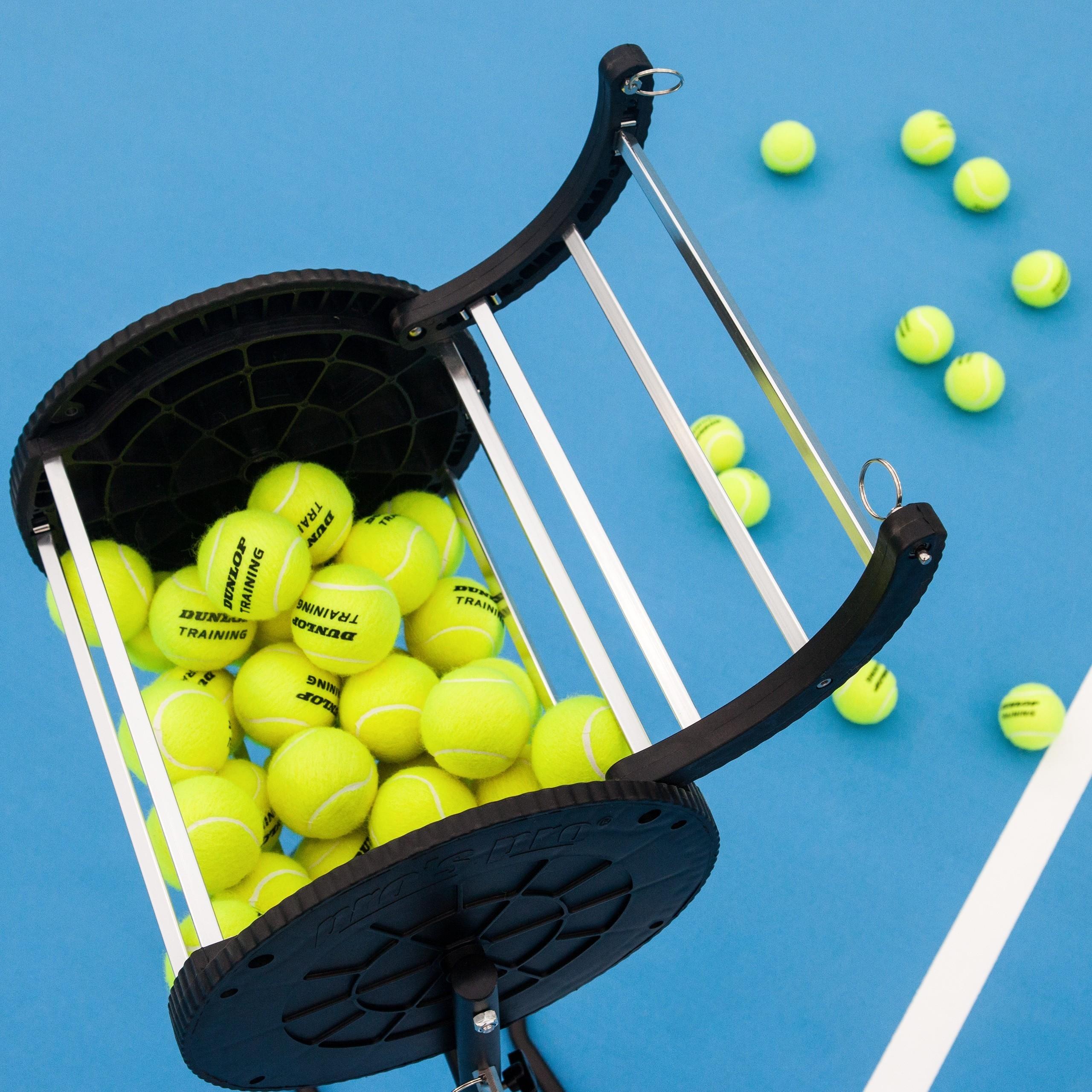 Tennis Ball Roller Mower's Hopper