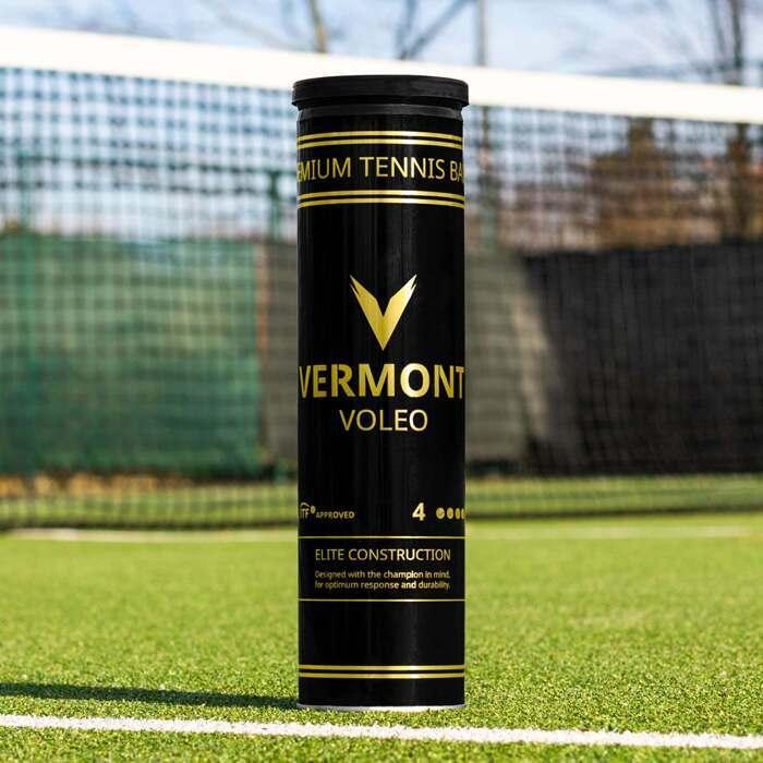 Теннисные мячи Vermont Voleo, одобренные ITF | Турнирные теннисные мячи