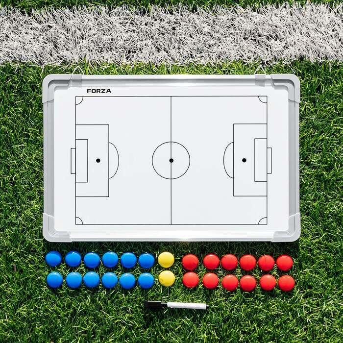 FORZA Football Coaching Board | 45cm x 30cm Football Coaching Tactics Boards