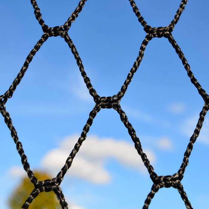 UV Treated 3mm Knotless HDPP Netting | Professional Ball Stop System