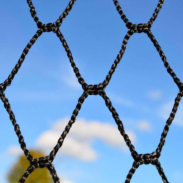 UV-behandeltes knotenfeies 3mm HDPP Netz | Professionelles Ballstopp System