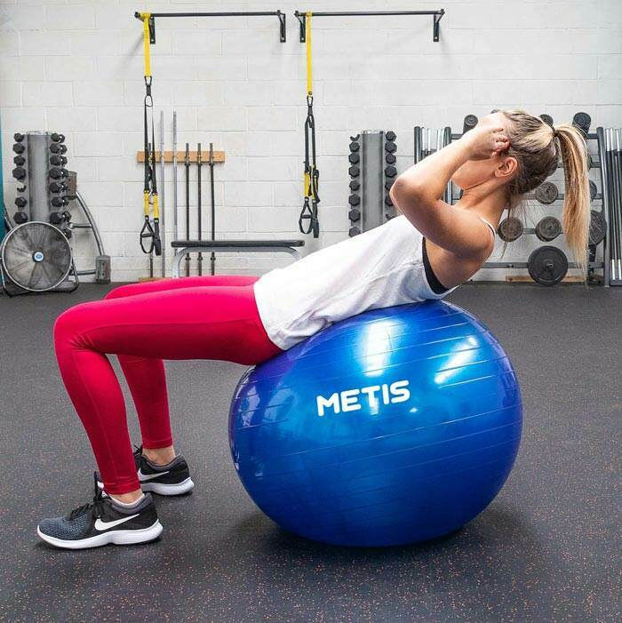 Swiss Ball For Core Strengthening | Yoga Ball
