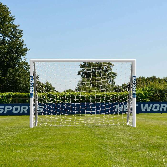 1.8m x 1.2m FORZA Alu60 Football Goals | Kids Football Goal