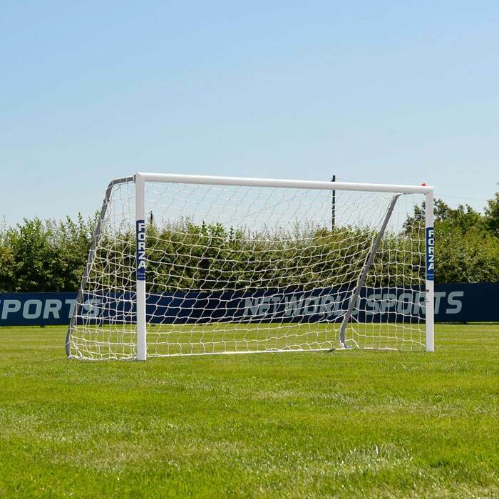 8 x 4 FORZA Alu60 Football Goals | Junior Football Goal