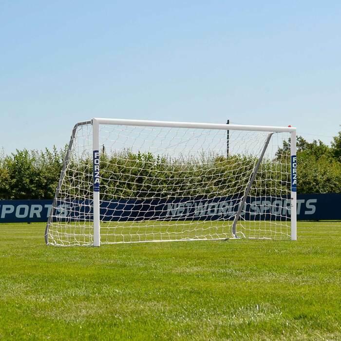 2.4m x 1.2m FORZA Alu60 Football Goals | Junior Football Goal