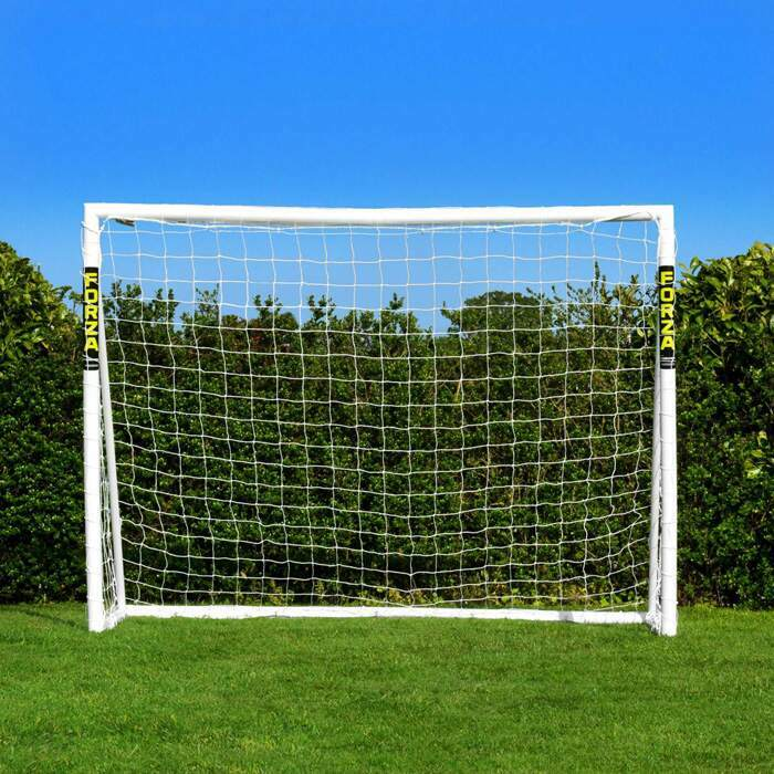 2.4m x 1.8m FORZA Locking Goal | Garden Football Goals
