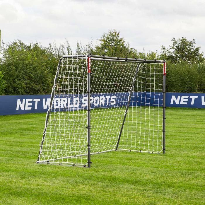 2.4m x 1.8m Football Goals | Steel Football Goals For Kids
