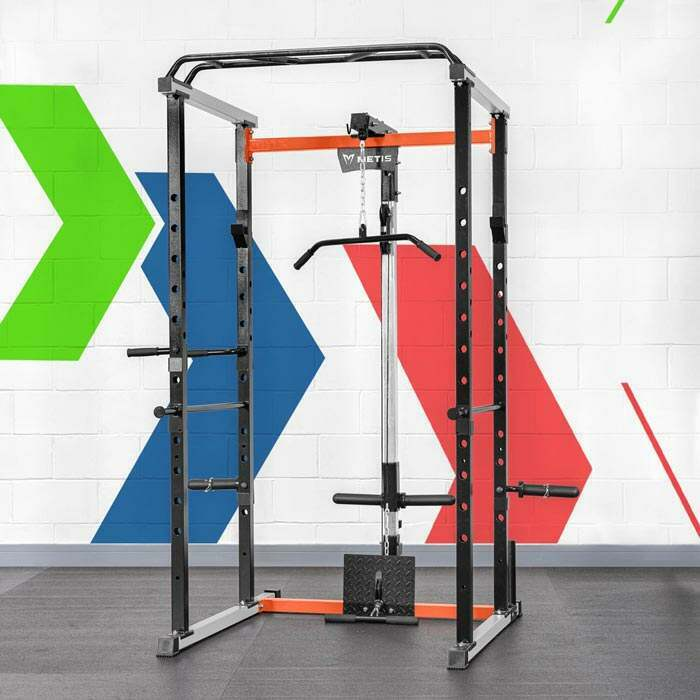 Power Cage With Pulley System | Lat Pull Down Machine