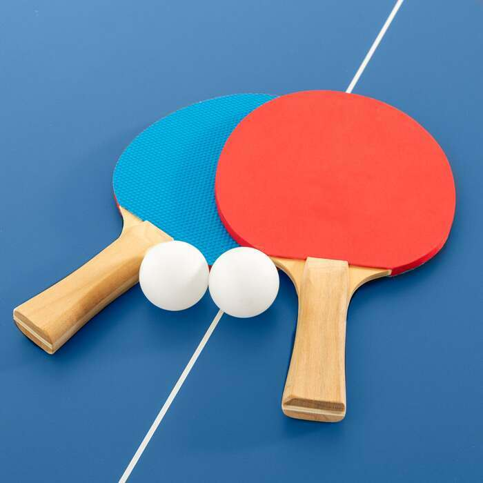 Portable Table Tennis Table | Ping Pong Bats & Balls