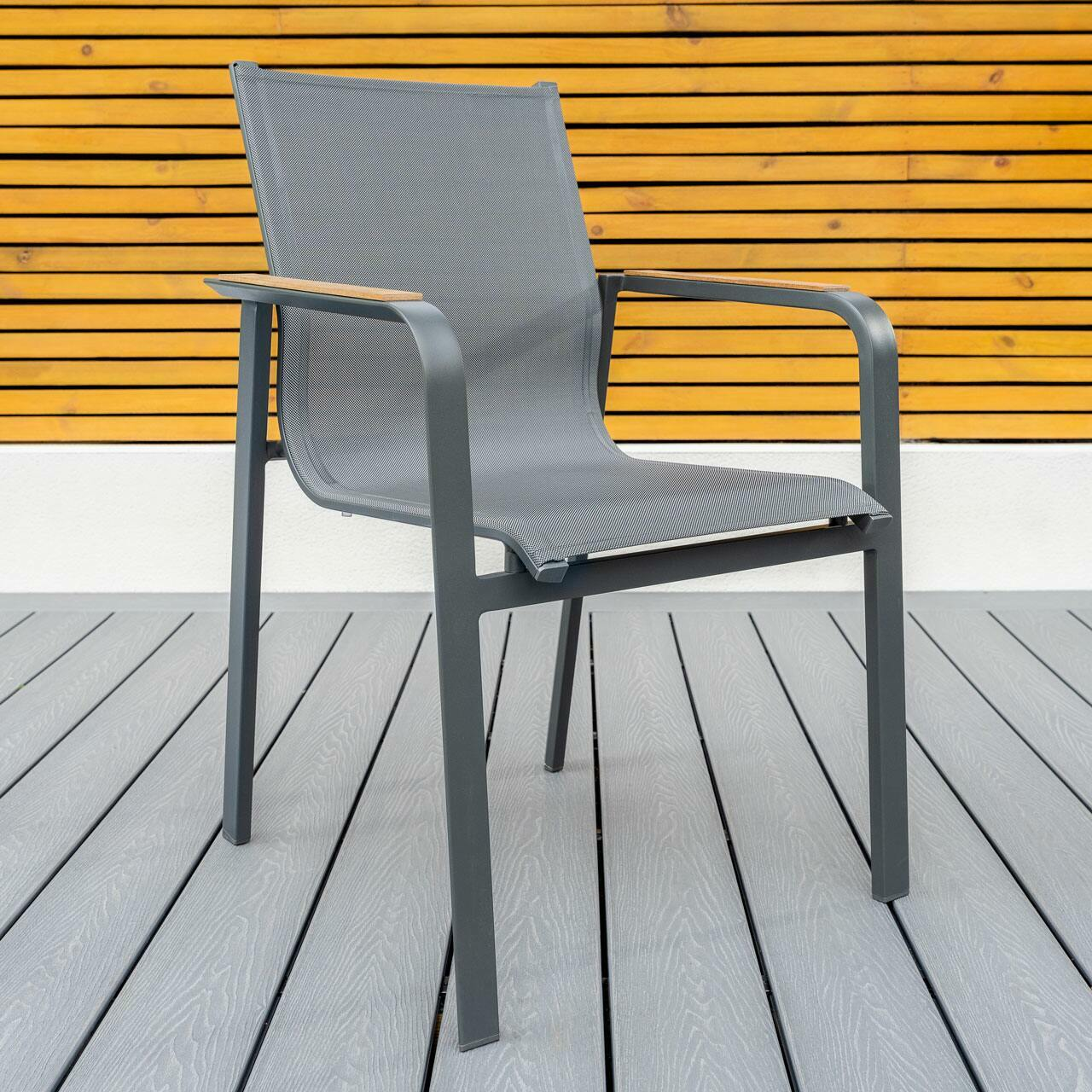 charcoal grey outdoor furniture