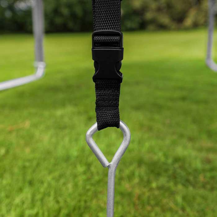 trampoline pegs | trampoline straps