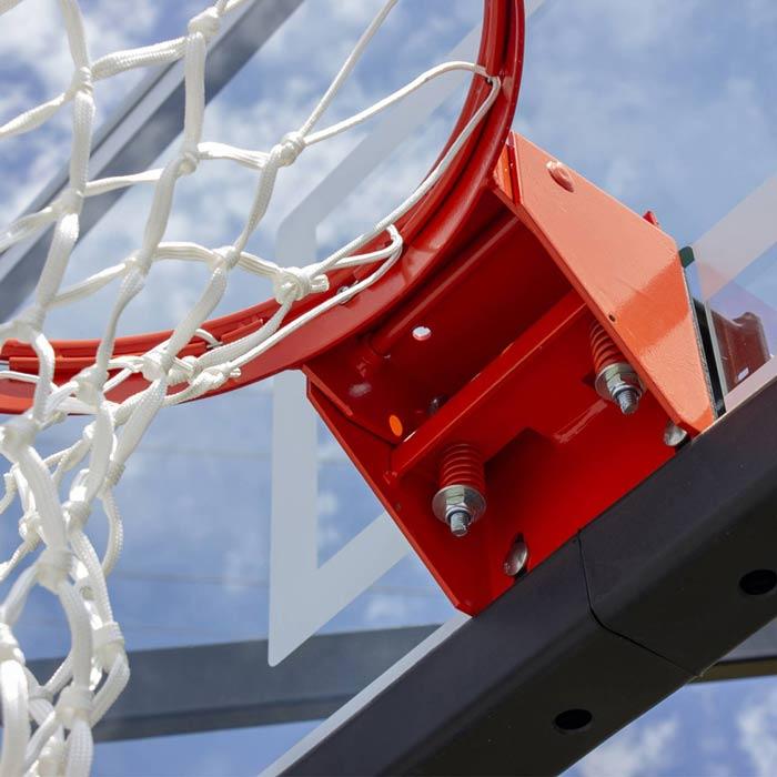 Basketball Pole and Backboard
