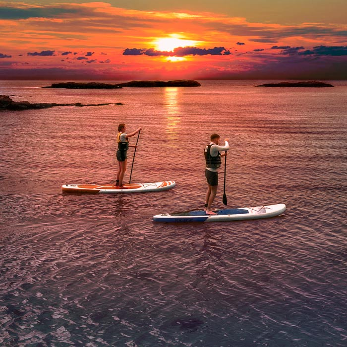 AquaTec Inflatable Paddle Boards | Deluxe Sup Boards
