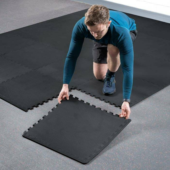 Extendable Gym Floor Matting | Garage Gym Flooring