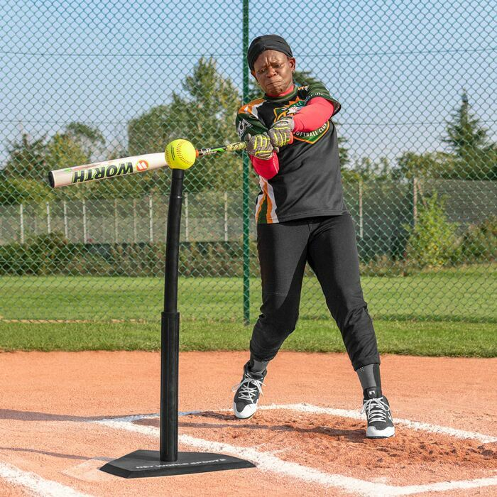 Ultra Heavy Duty Batting Tee With Steel Base | Strong & Stable Performance