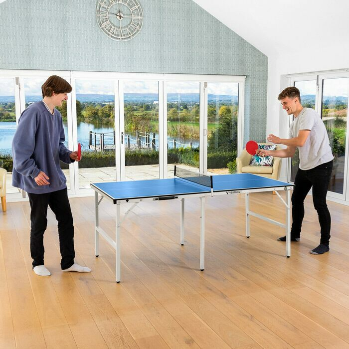 Mini Table Tennis Table | Ping Pong Bats & Balls Set