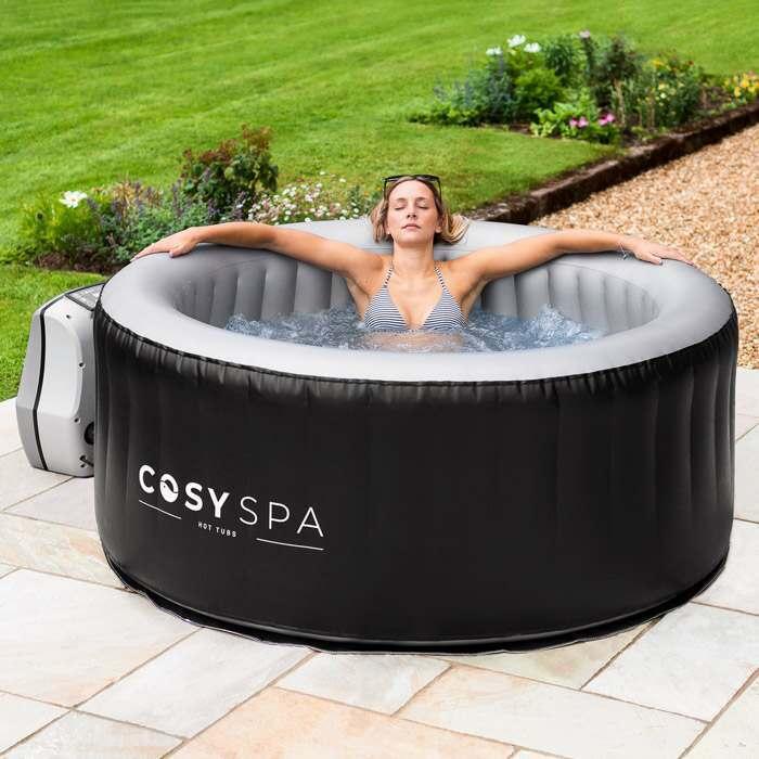 Luxe Opblaasbaar Hot Tub Cover | Eersteklas Tuin-bubbelbaden