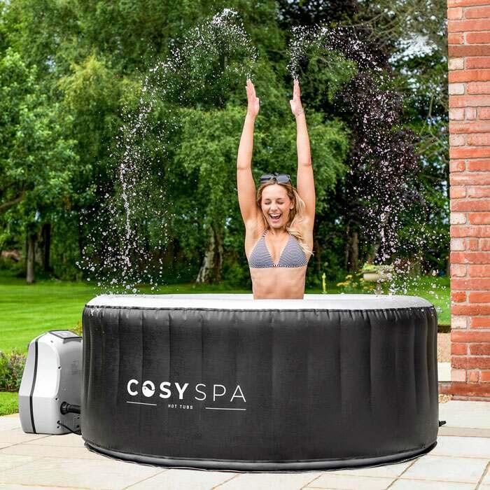 Deluxe Inflatable Hot Tub Lid | Premium Garden Hot Tubs