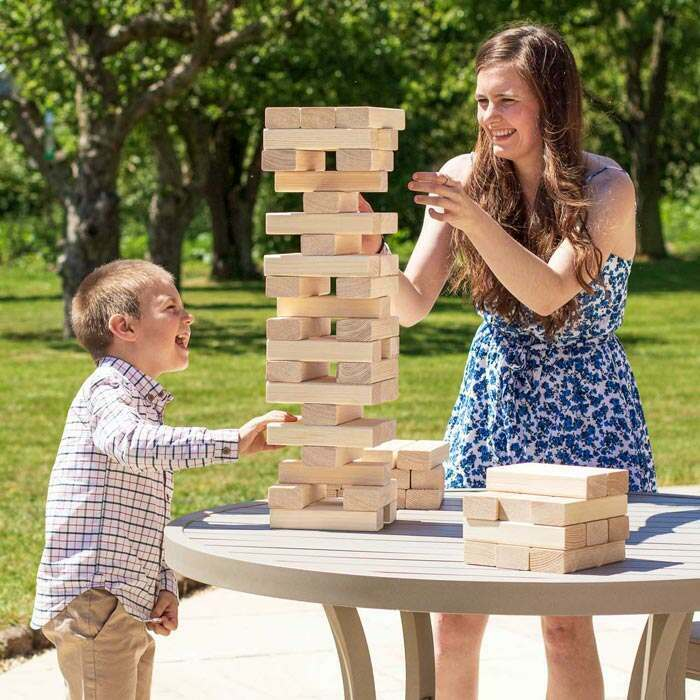 Family Jenga Set | Outdoor Garden Games