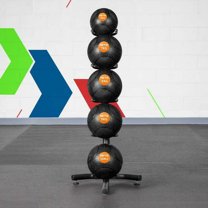 Exercise Ball Shelf
