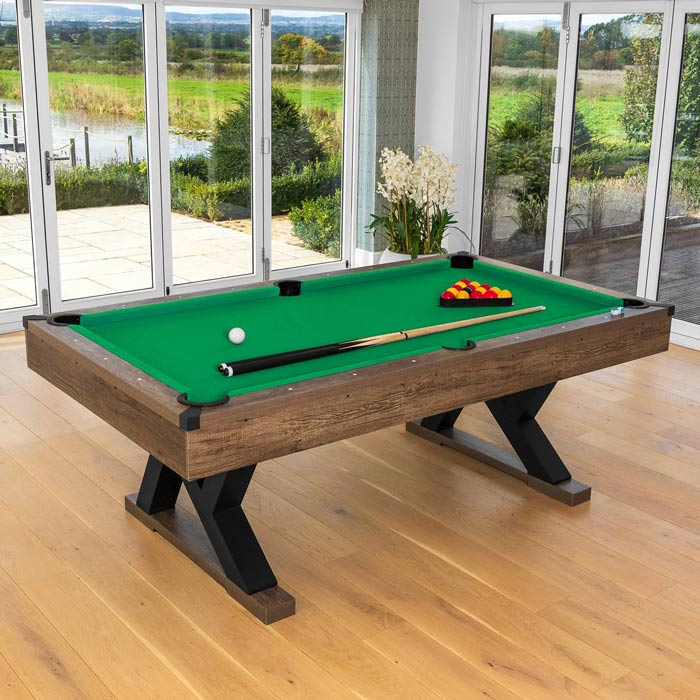 premium english pool table