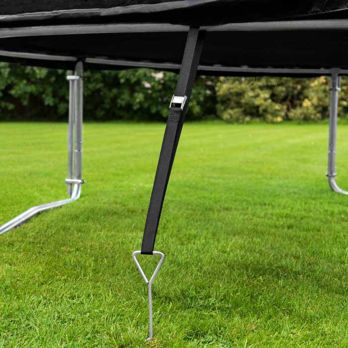 trampoline verankeringsset