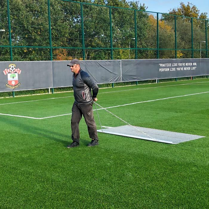 StadiumMax Drag Mat For Sports Pitches | Football Pitch Sweeper