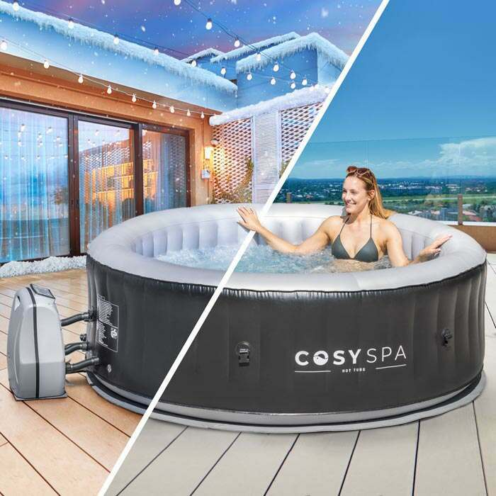 Complete Hot Tub Spa System | Home Jacuzzi System