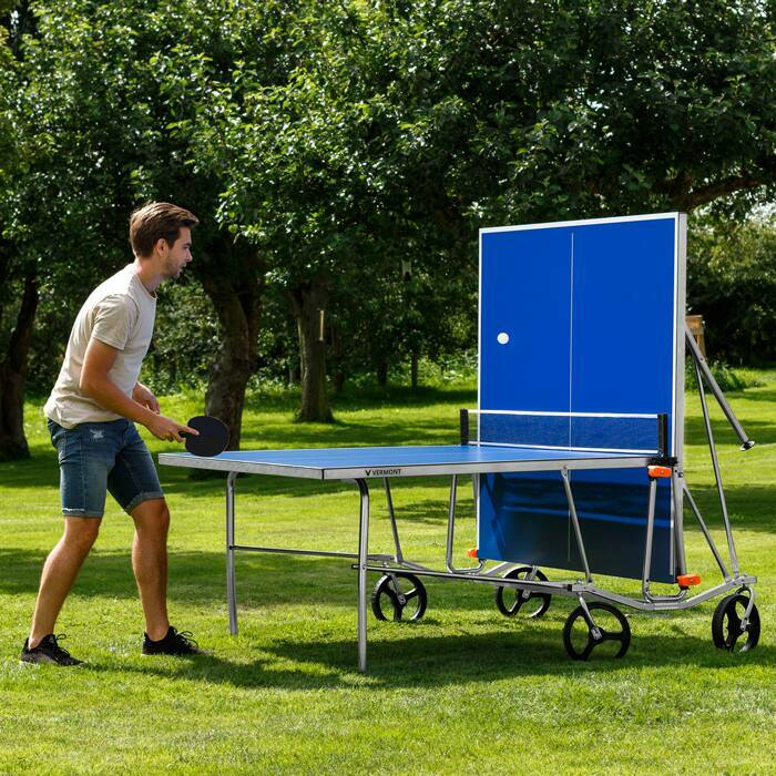 Foldable Table Tennis Table | Folding Outdoor Ping Pong Table