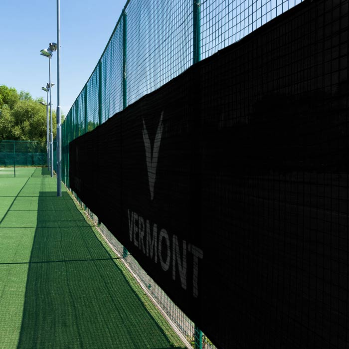 Privacy Screens For Home Tennis Courts | Tennis Court Windbreaks