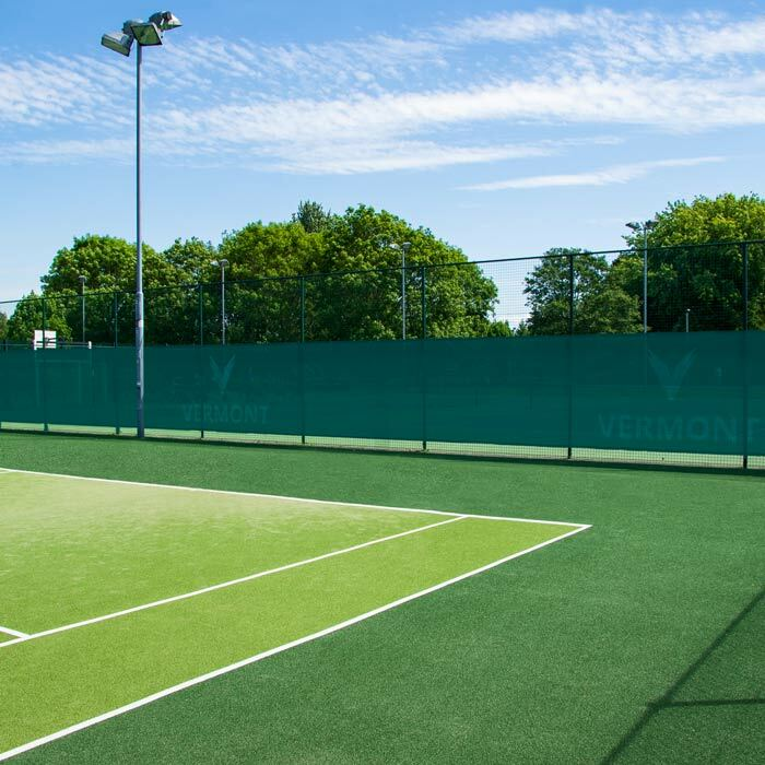 100% Weatherproof Tennis Court Privacy Screens | Reinforced Hemmed Edges With Brass Eyelets