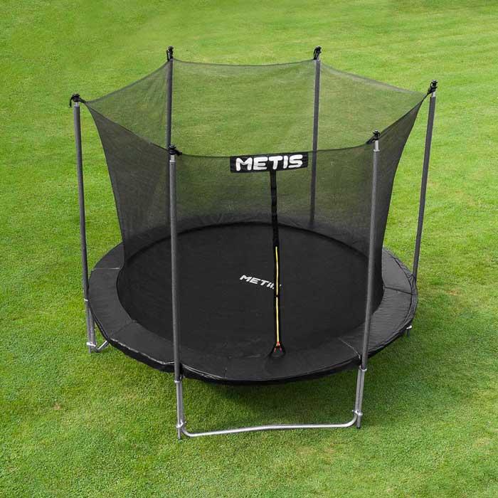 METIS Voyager Trädgård Trampolin | Studsmattor för familjer