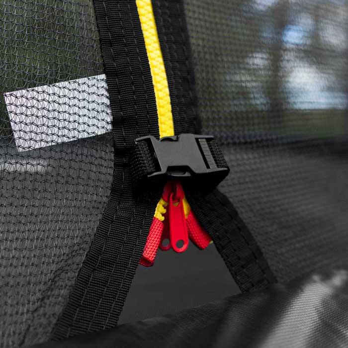 Trädgård Trampoliner med säkerhetsnät | Barn Studsmattor med nät