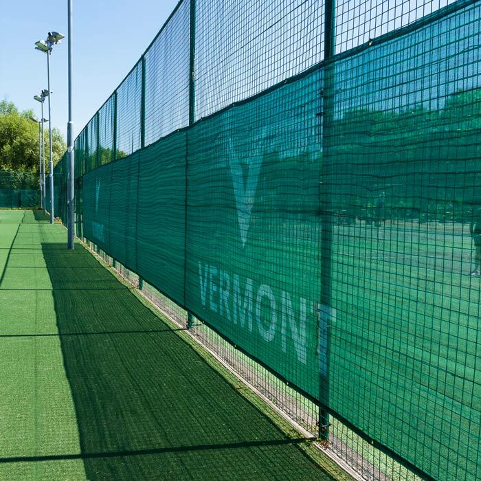 Weatherproof Knitted HDPE Tennis Court Privacy Screen | Sunlight & Wind Protection