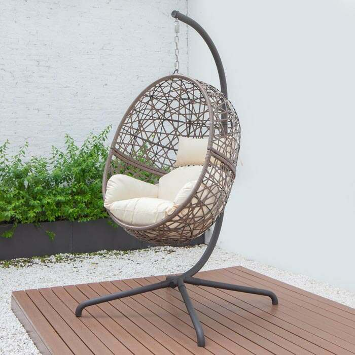 Harrier Hanging Egg Chairs | Deluxe Garden Furniture