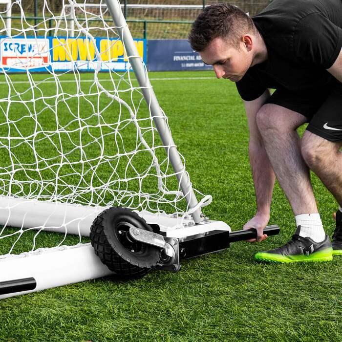 360° Roues de Football | Roues Rotatives pour les Buts de Football