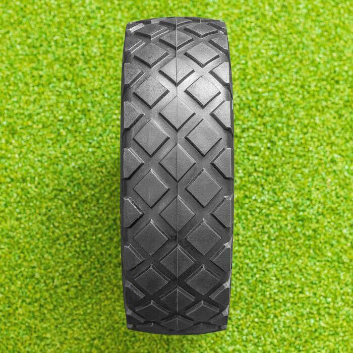 4mm Deep Diamond Cut Tread Pattern | Replacement Industrial Wheel