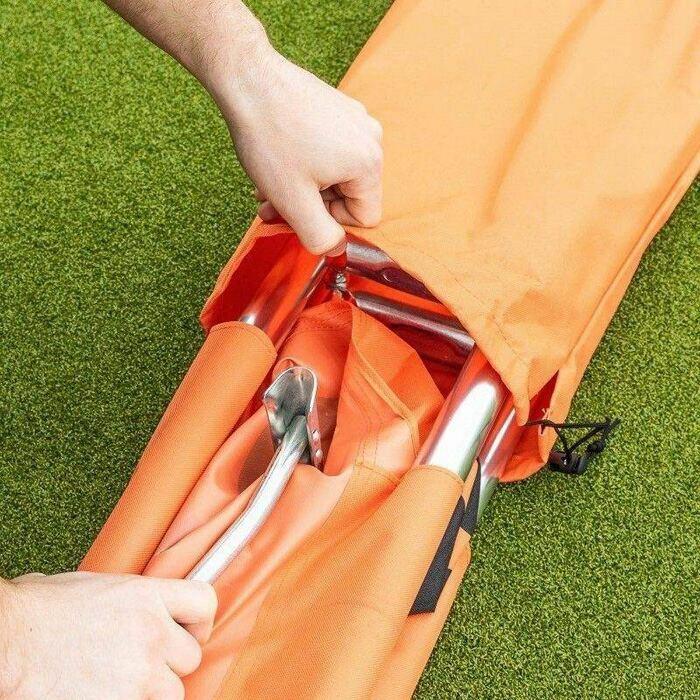 barella d'emergenza con borsa