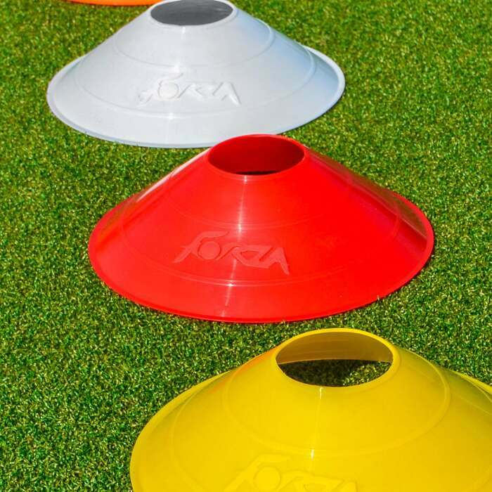 Weatherproof Multi-Colored Sports Cones