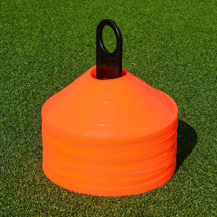 Cone stand for hockey training cones