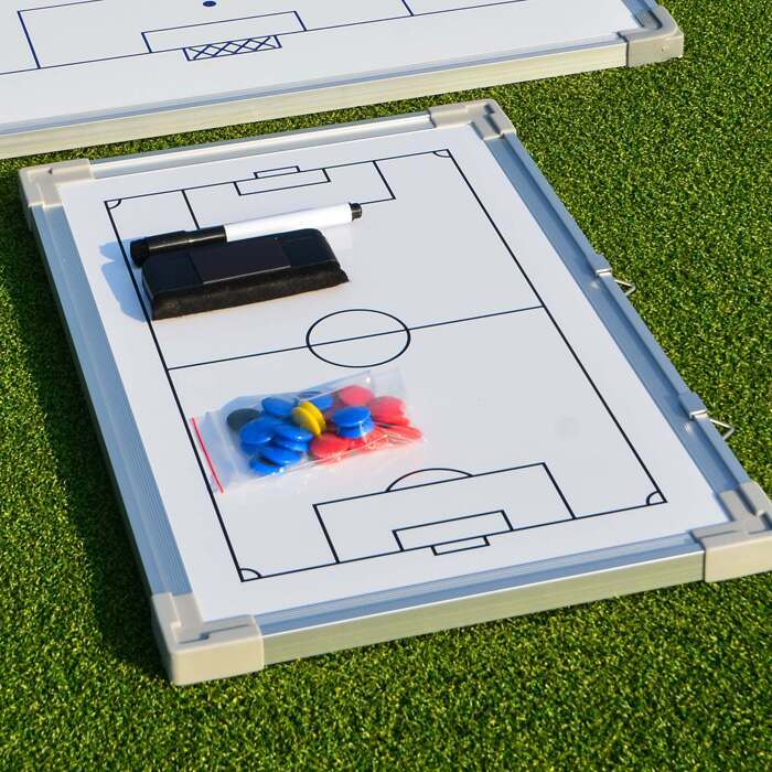 Wipe Clean Football Tactics Board | Single Sided Football Coaching Board
