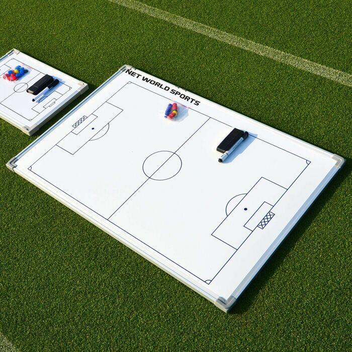 Wipe clean football tactics board