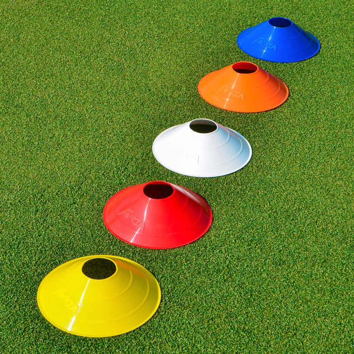 Multi Colored Training Cones Pack Of 50 or 1000