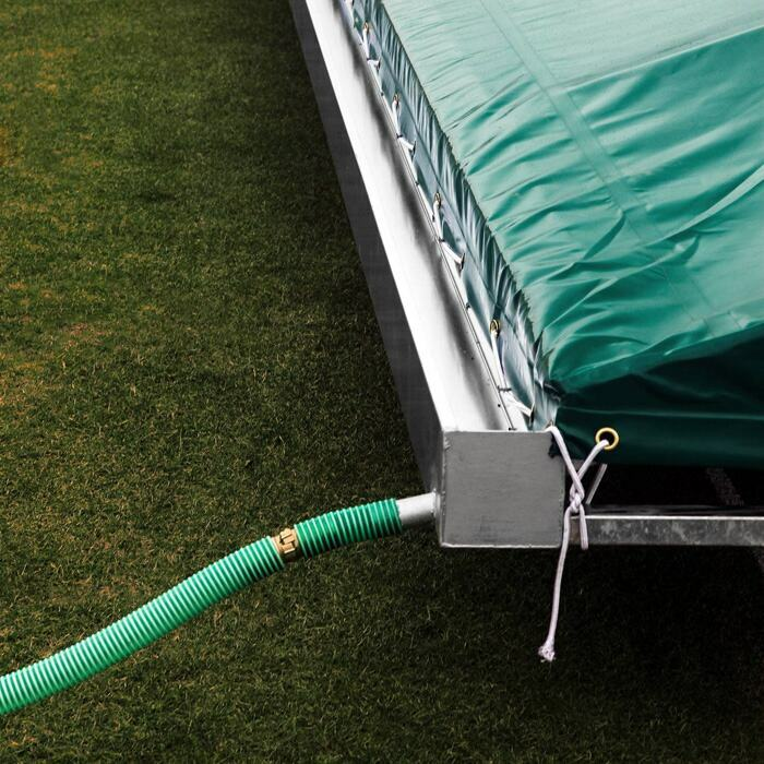 Mobile Cricket Pitch Covers With Improved Drainage and Water Protection
