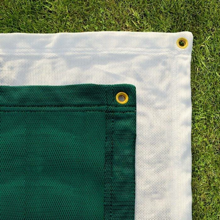 Green Archery Impact Panels | White Archery Netting