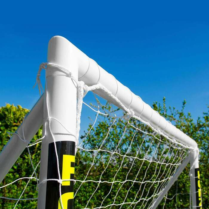 8 x 6 FORZA Locking Football Goals For The Back Garden | Weatherproof Football Goal