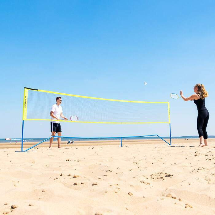 Filet de Mini Badminton Pour la Plage | Filets de Badminton Portables
