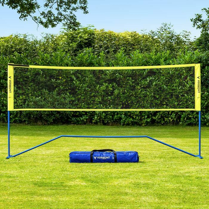 Portable Badminton Net With Carry Bag | Badminton Net For Families & Schools
