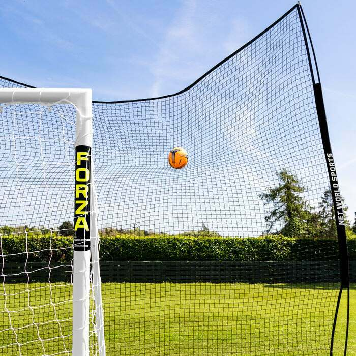 Ball Stopp Netz System mit verstellbare Winkeln-Option | Pop-Up Ball Stopp Netz