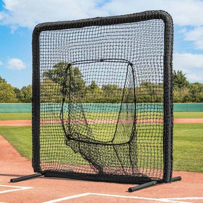 baseboll socka nät skydd